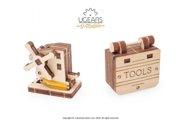 Ugears Dream Cabriolet tools